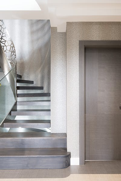Bespoke Internal Door Vario 4 Oak Grey