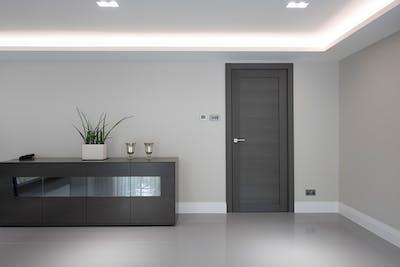 Bespoke Gio Internal Door Grey Oak