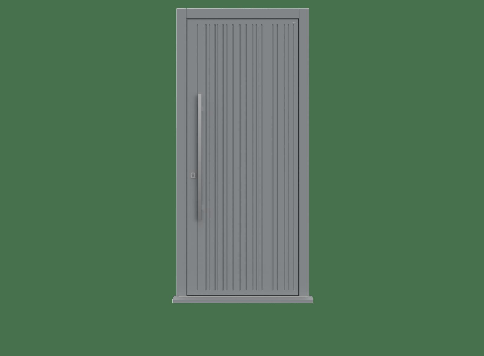 Plummet Single leaf front door - Toba by Deuren