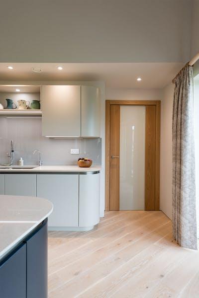 Deuren Trem Glass Natural Oak Internal Door