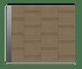 Natural Oak Garage Door - Linea S by Deuren