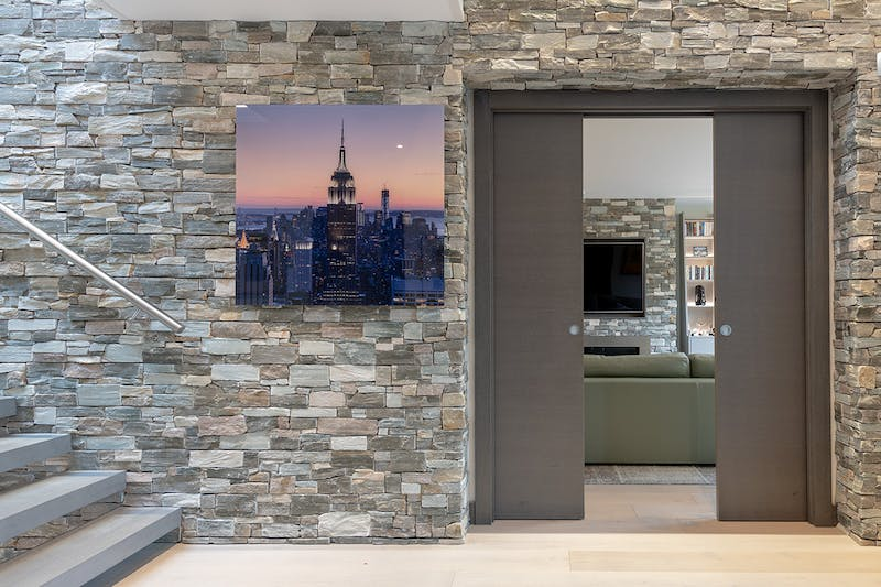 What is the difference between internal pocket and sliding doors?