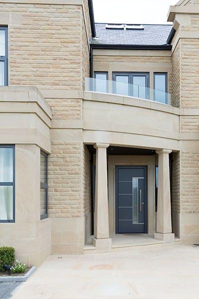 Deuren Pianura 2 Anthracite Front Door