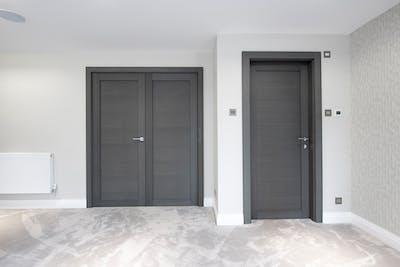 Bespoke Internal Door Grey Oak Gio