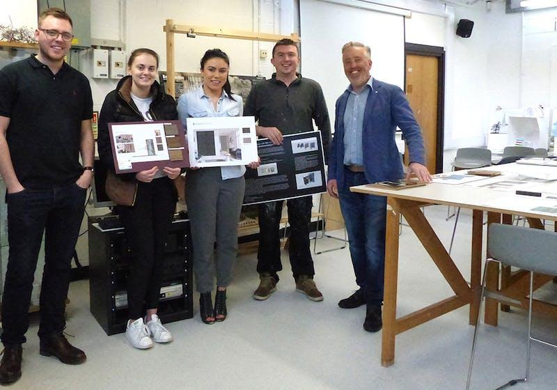 Winners of the Deuren door competition