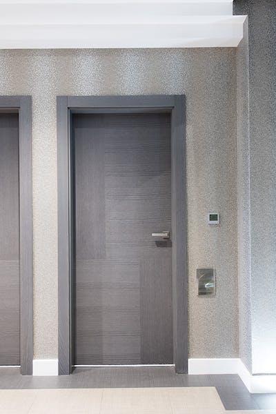 Bespoke Grey Oak Internal Door Vario 4