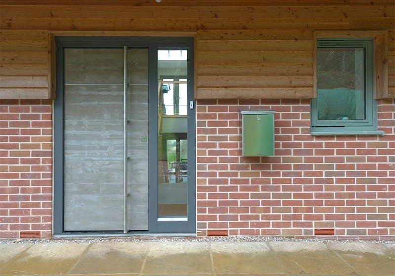 Concrete doors