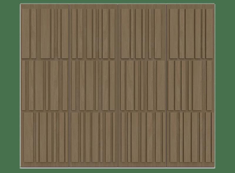 Natural Oak Garage Door - Tavole by Deuren