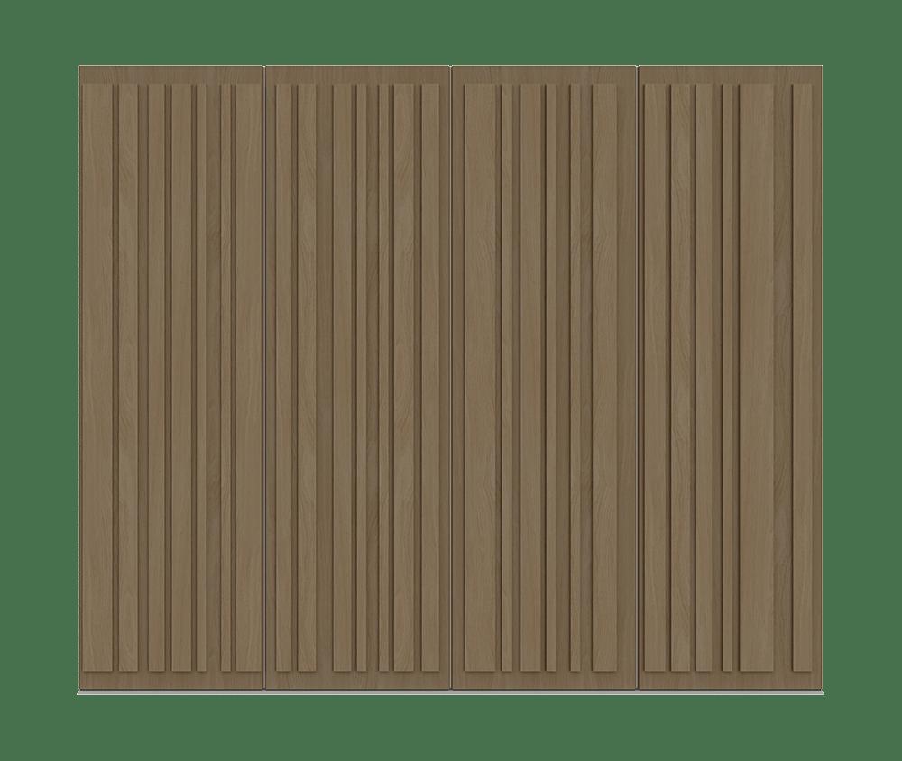 Natural Oak Garage Door - Piano by Deuren