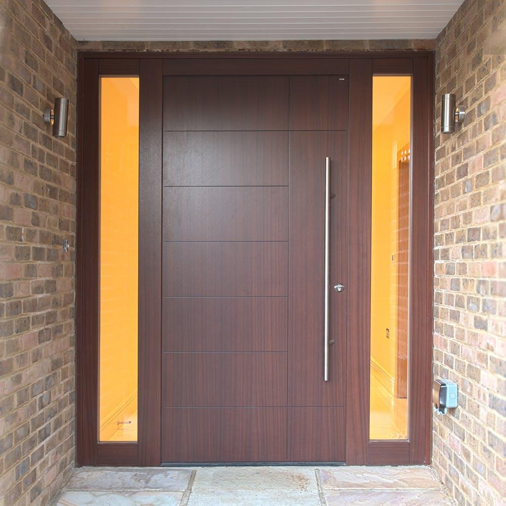 A truly unique front door