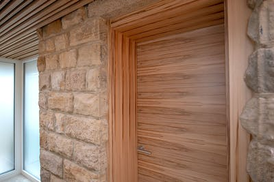 Bespoke Internal Door Trem H Natural Oak