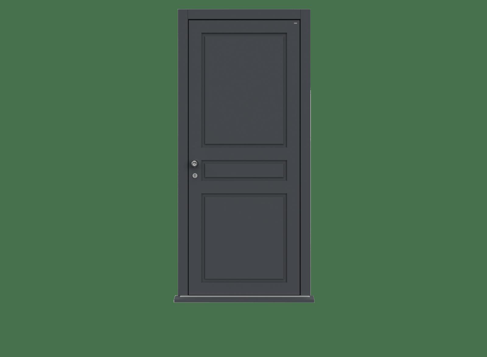 Railings Single leaf front door - Georgian by Deuren