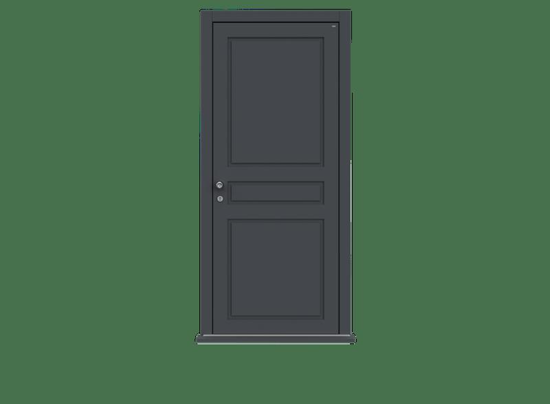 Single leaf front door - Georgian by Deuren