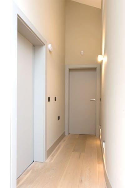 Bespoke Internal Door Grey Ral Trem