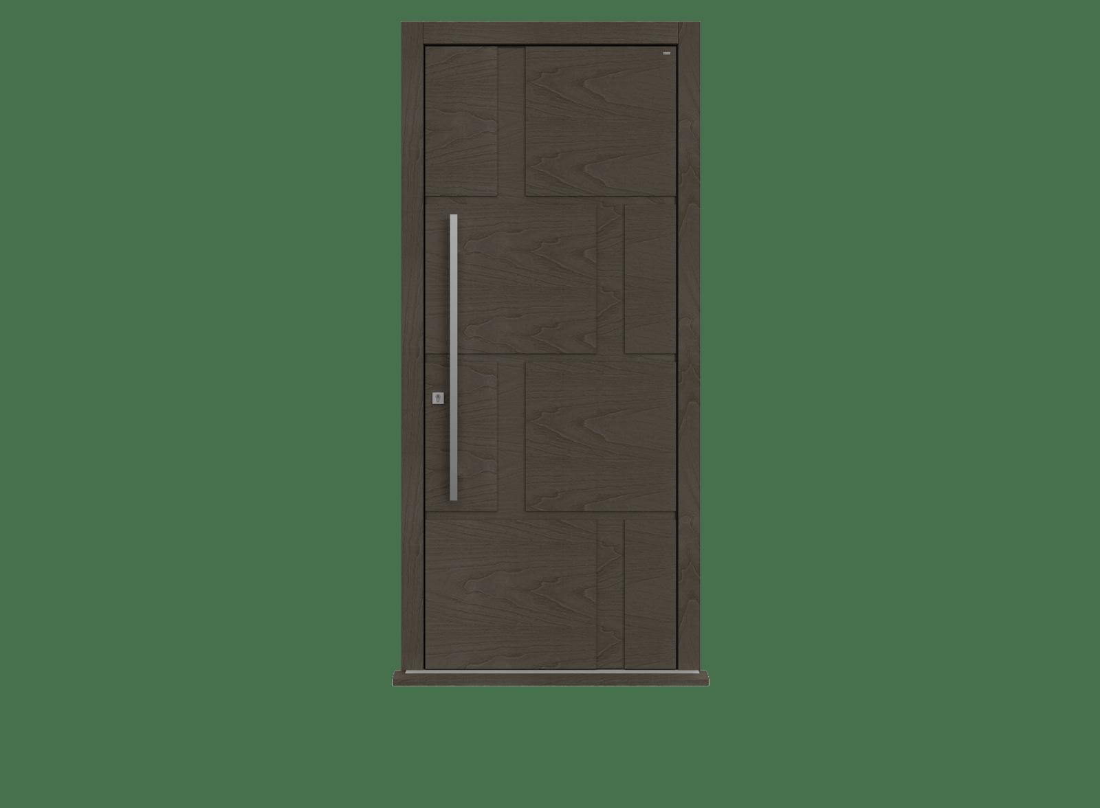Peco Grigio Single leaf front door - Tegal by Deuren
