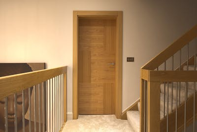 Bespoke Internal Door Vario 6 Natural Oak