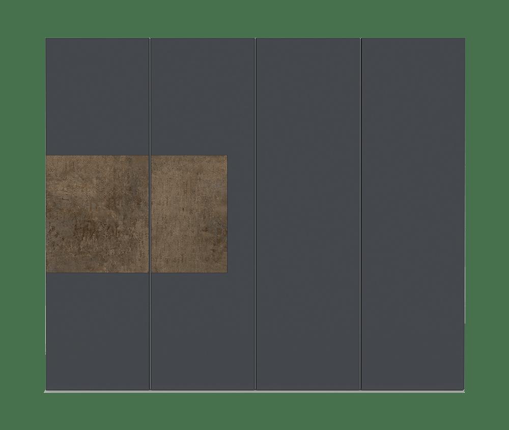Patina Bronze Garage Door - Teri by Deuren