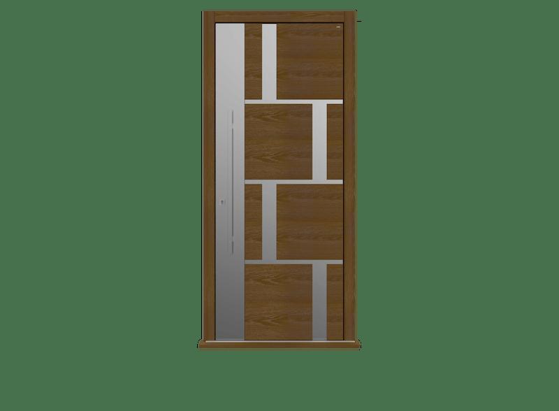 Single leaf front door - Tegal SSI by Deuren