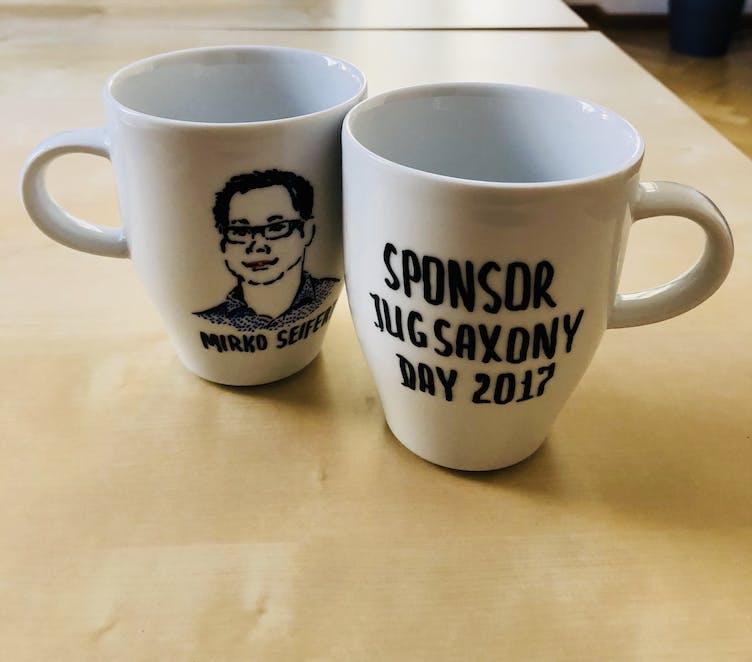 JUG Saxony Kaffeetassen