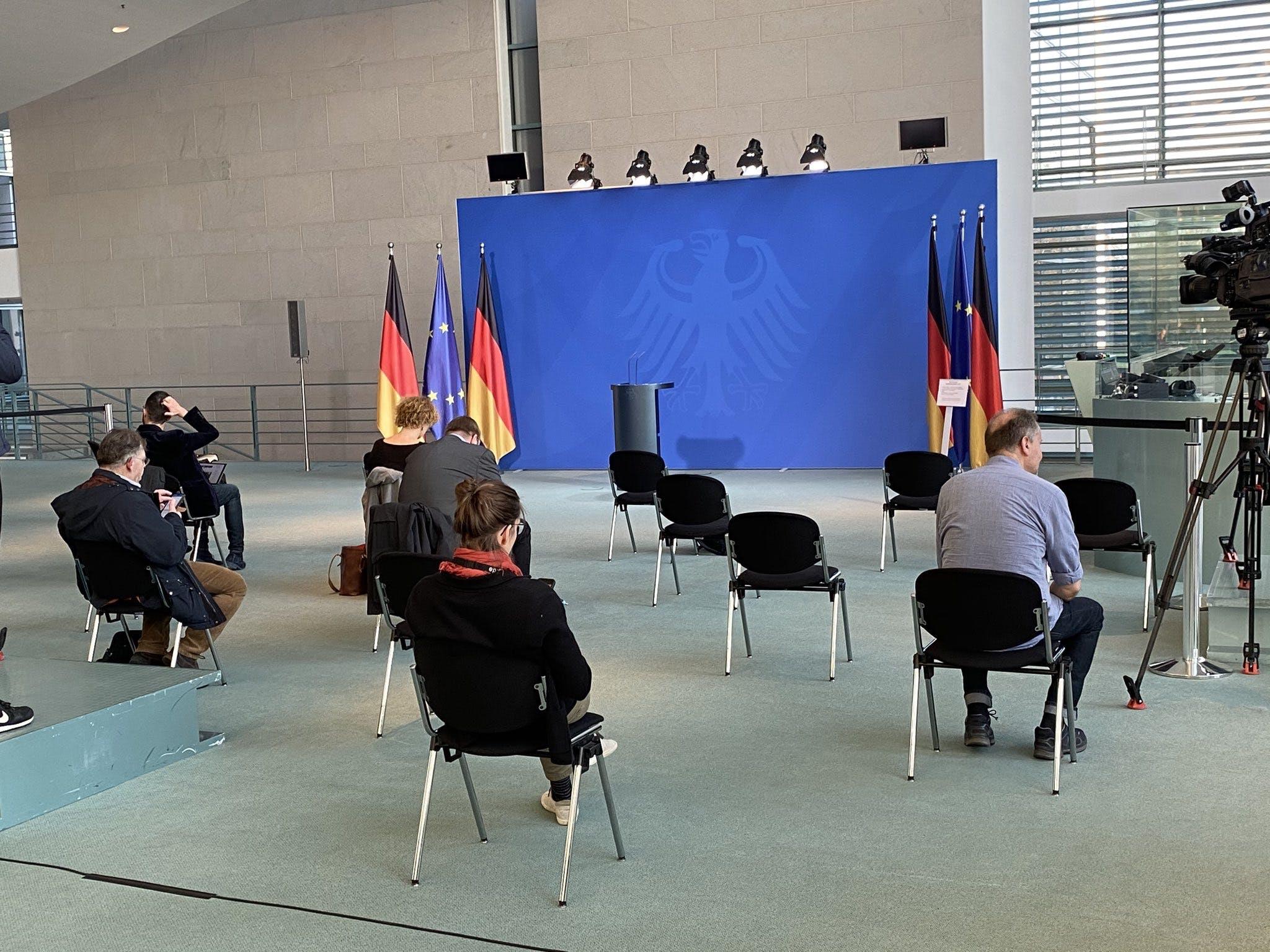 Conferencia de Prensa en Alemania.