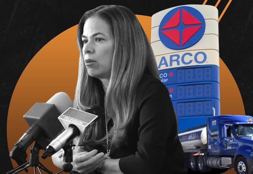 La historia detrás de la historia de Alejandra de la Vega y el mercado gasolinero en Ciudad Juárez