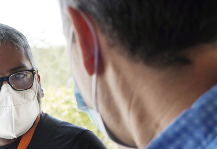 Jesús Peña: un reportero de calle