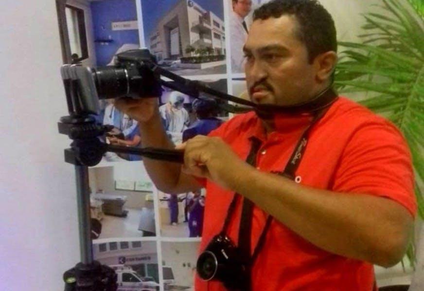 La última cobertura del periodista Francisco Romero en Playa del Carmen