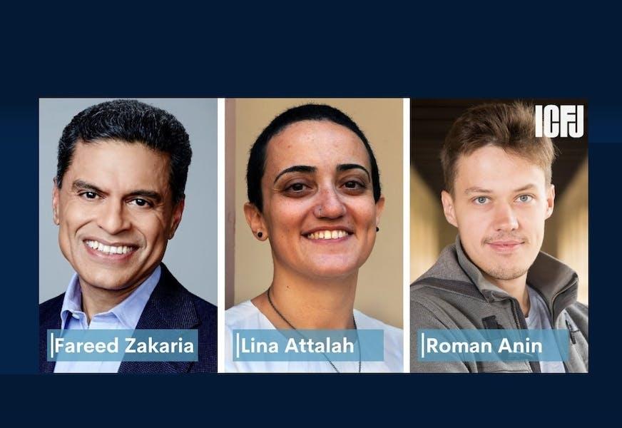 México y América Latina, presentes en el Tributo para periodistas de ICFJ 2020
