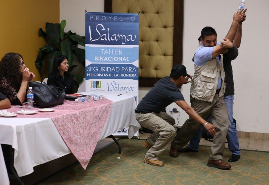 Improving journalists' safety along a violent border