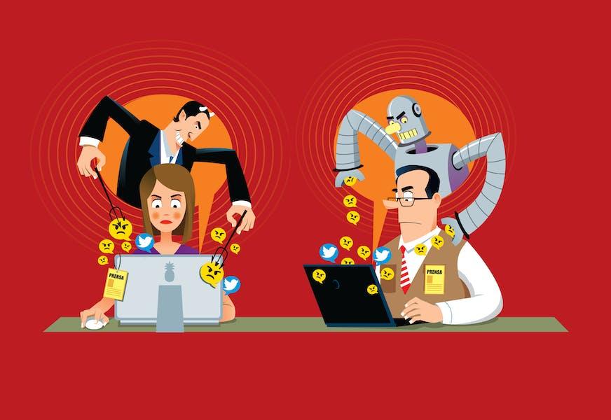 Webinar del BCJB: Uso de Bots y Trolls vs periodistas