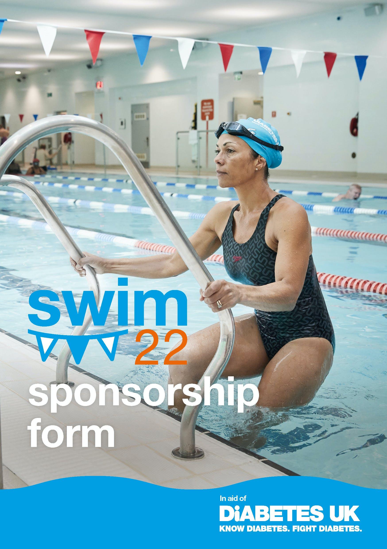 Swim22 Sponsor form