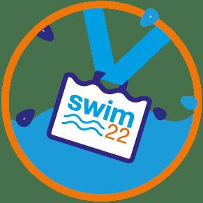 Swim22 medal