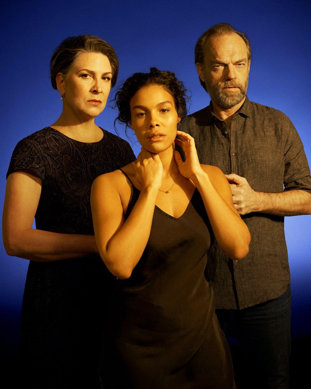 Pamela Rabe, Zahra Newman, Hugo Weaving