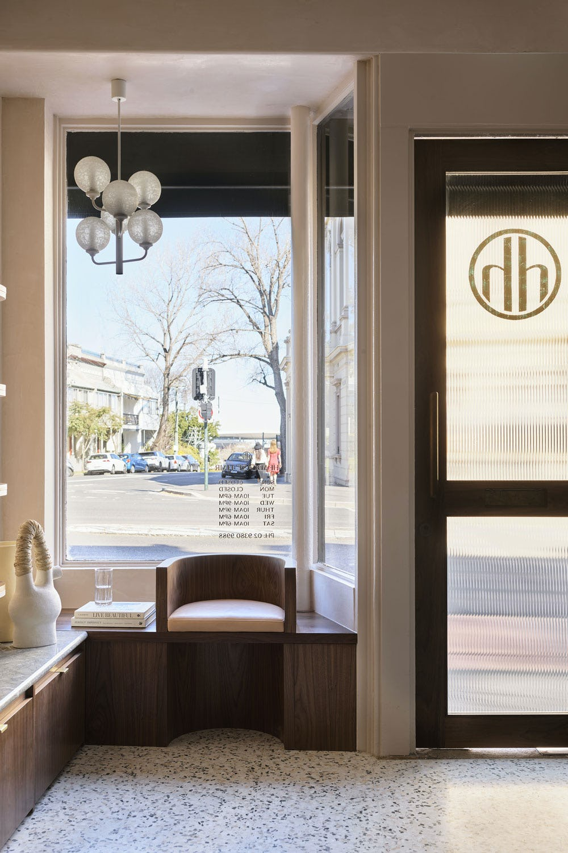 Interior of Headcase Hair's Paddington salon