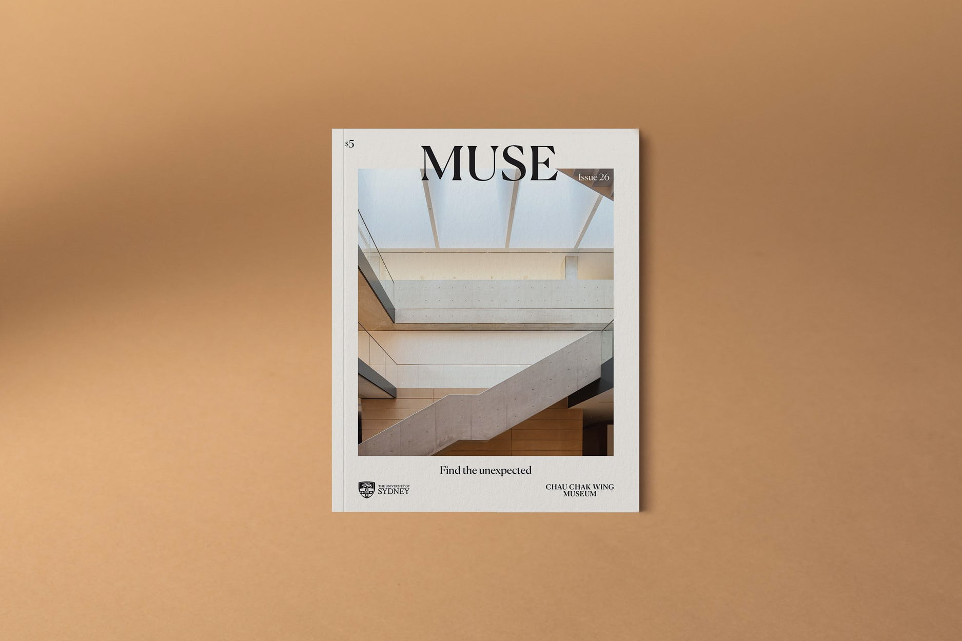 Cover of MUSE magazine