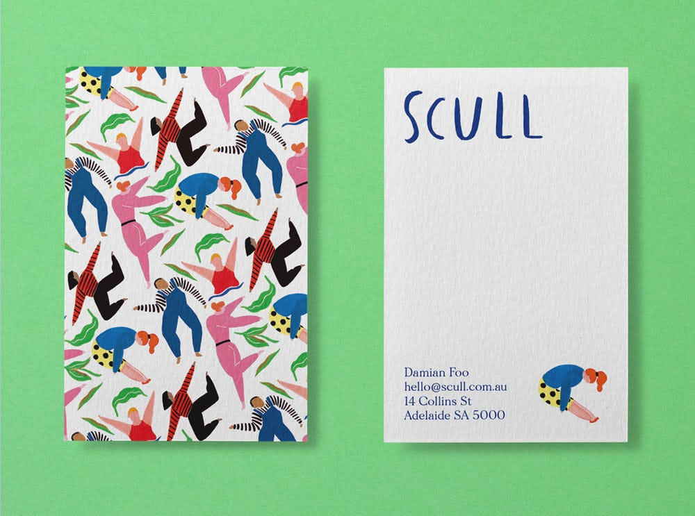 Scull business card