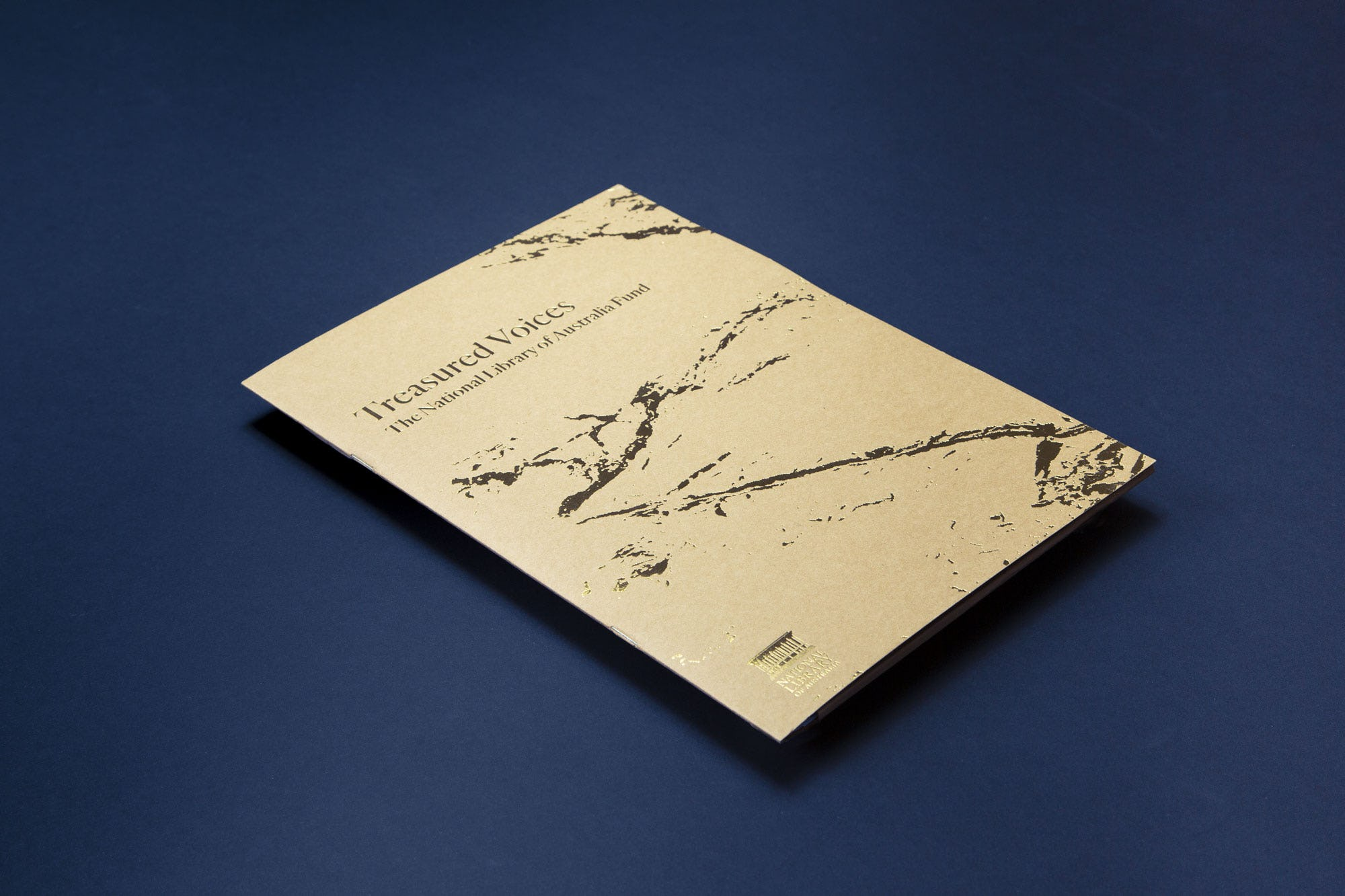 Cover of Treasured Voices booklet