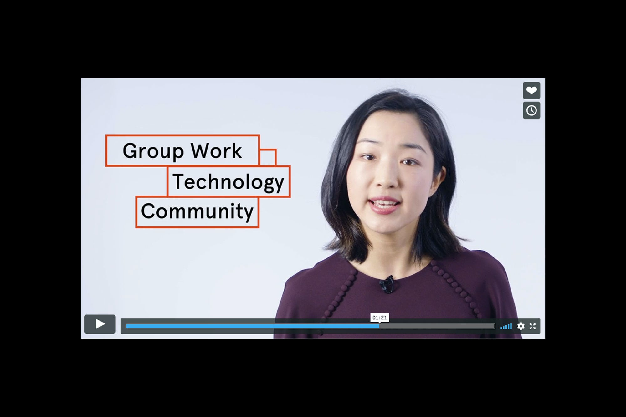 Screen shot of CLaS video