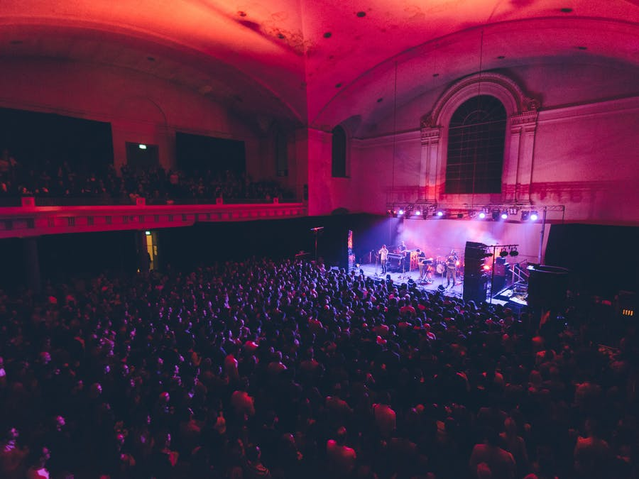Getting back to live events in 2021 with SAINT Hackney