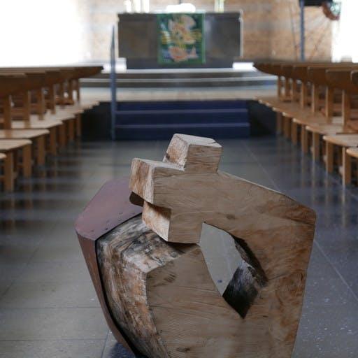 Der Baumeister, aus dem lastdance-Block, Stahl und Holz
