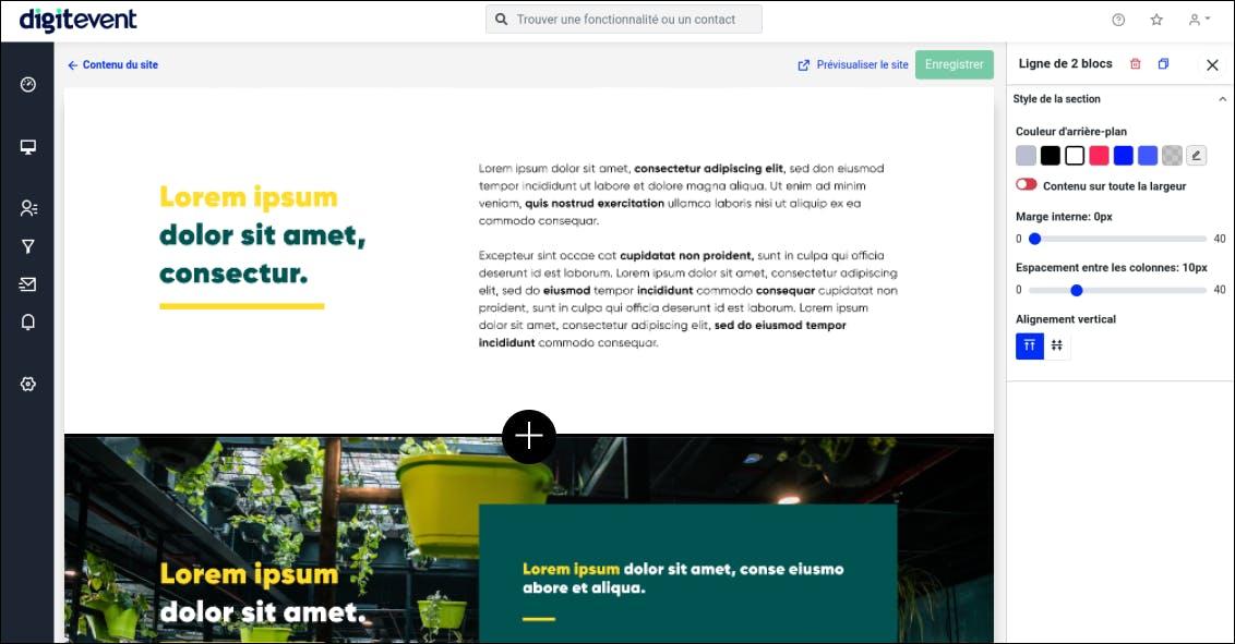 digitevent website creator