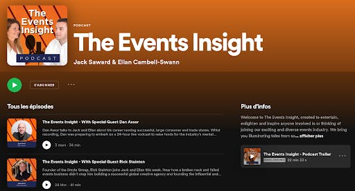 the events insight