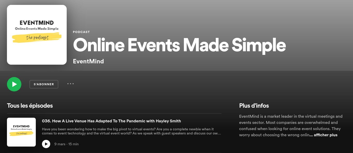 online events made simple 2021 podcast