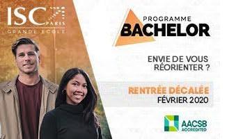 Réoriente-toi ! Rentre en Bachelor à l'ISC en février 2020