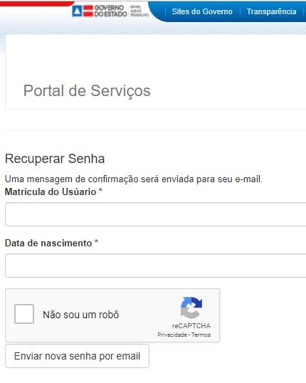Portal do servidor rh bahia contracheque
