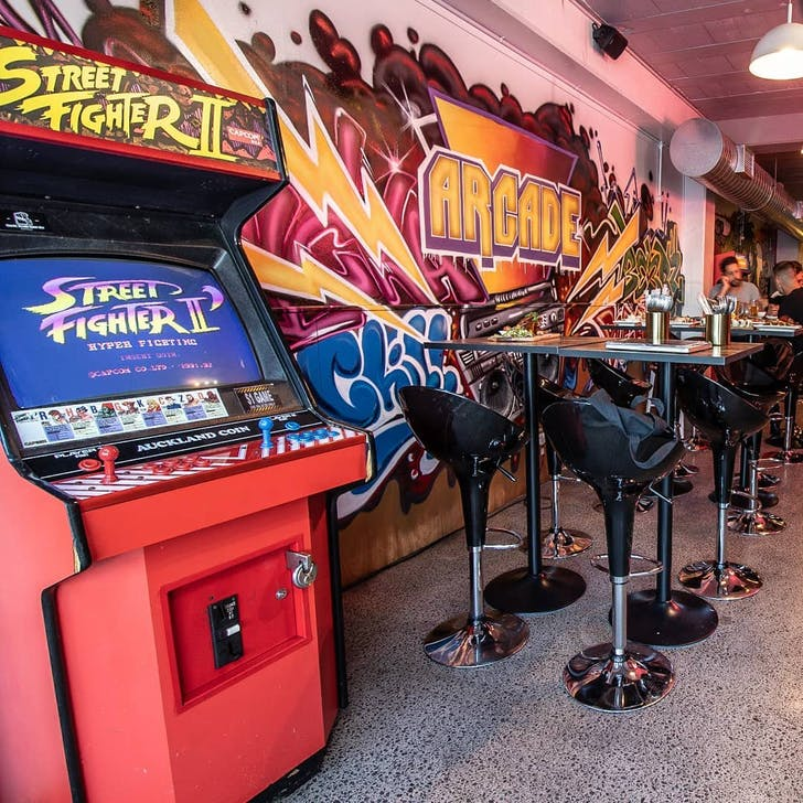 Relive the 90s' at Arcade Kingsland