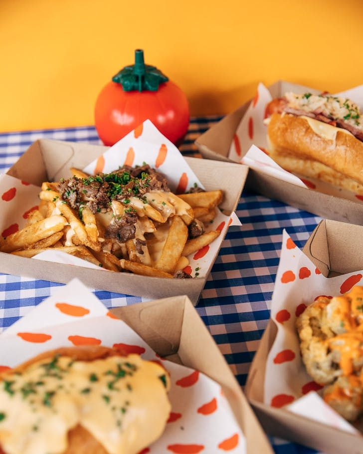 Prepare for gourmet hotdogs and American fare from Good Dog Bad Dog