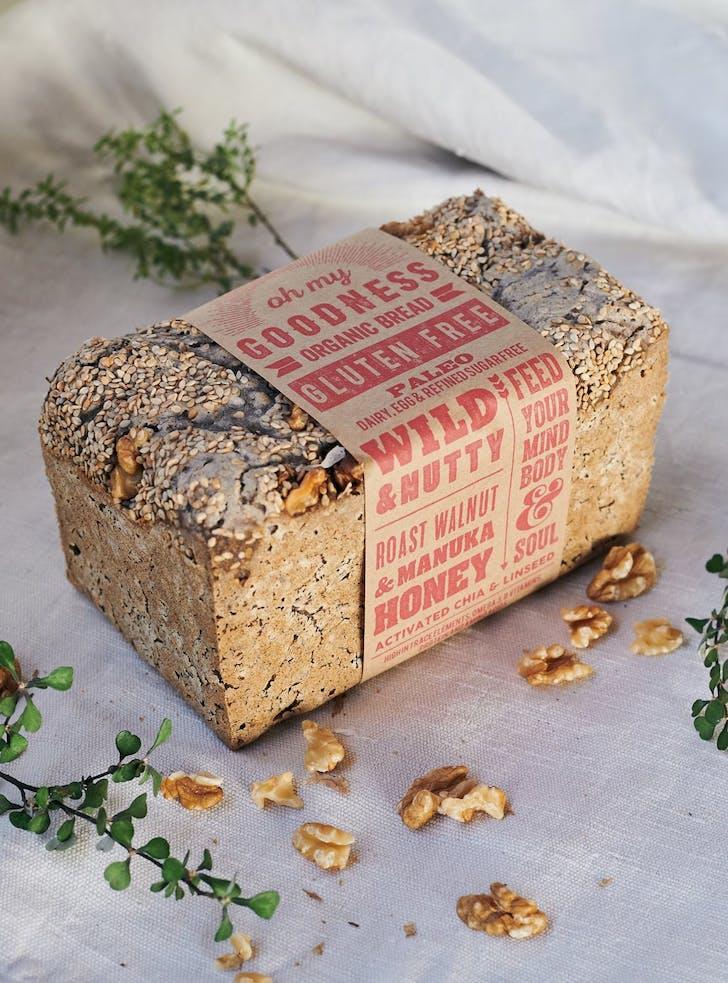 OMGoodness' Walnut & Honey loaf