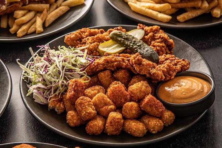 The Bavarian's Hot Nashville Schnitzel