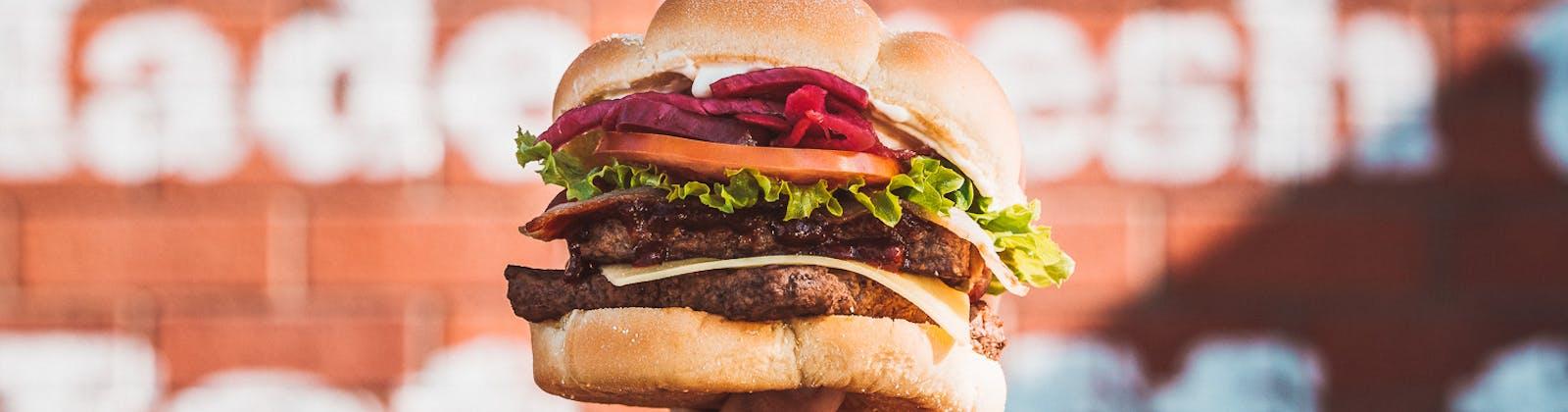 wendys korean bbq burger
